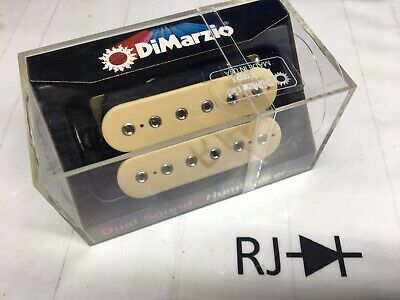 80's New Old Stock Dimarzio DP101 Dual Sound Humbucker Pickup Cream