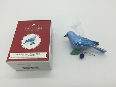 "Hallmark 2019 KOC Convention Exclusive ""Blue-Gray Tanager"" Bird Repaint"