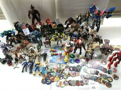 Mixed Lot of Miscellaneous Toys - Action Figures, pogs, others etc