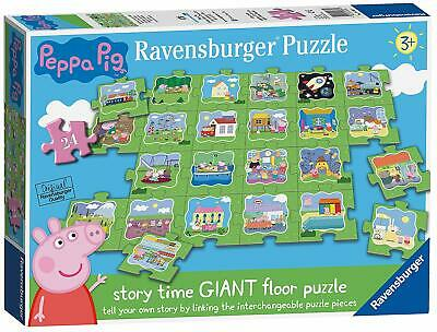 RAVENSBURGER UK 5338 PEPPA PIG RIESEN BODEN PUZZLE (8f0)