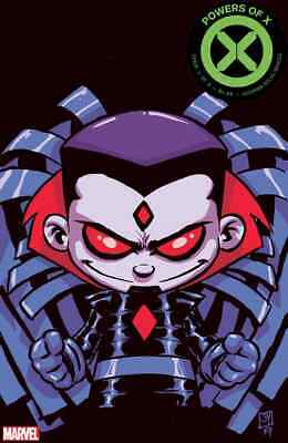 Powers Of X 4 2919 Skottie Young Baby Variant Nm