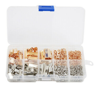 Jewelry Findings Kit Supplies Jump Rings Lobster Clasp For DIY Making Great