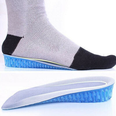 AU Honeycomb Gel Heel Lifts Height Increase Insoles Shoe Inserts