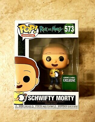 Funko POP! Rick And Morty: SCHWIFTY MORTY #573 Barnes & Noble Exclusive