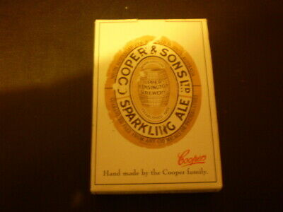 Pack of older beer playing cards  -   Coopers Sparkling Ale