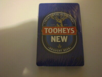 Pack of older beer playing cards  -   Tooheys New