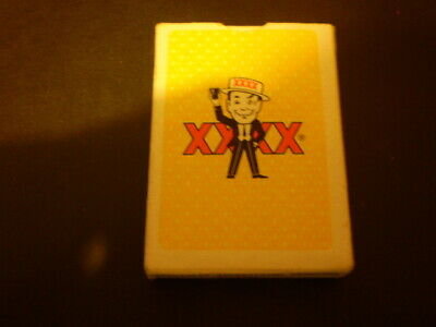 Pack of older beer playing cards  -    XXXX Beer