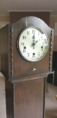 Smiths Enfield English Westminster Chiming 1940's Granddaughter Clock
