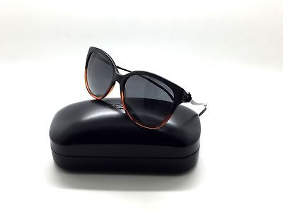 295462ca COACH WOMEN'S HC8218 HC/8218 547587 Black Amber Glitter Gradient Sunglasses  57mm