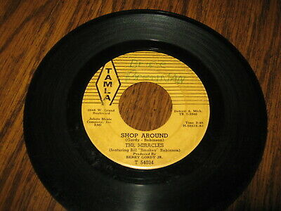 45 Rpm - The Miracles - Shop Around