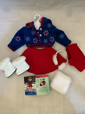 AMERICAN GIRL MOLLY/'S SKATING OUTFIT NEW IN BOX