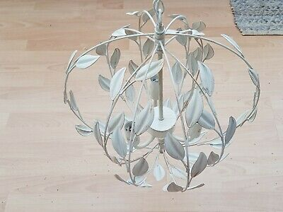 BRAND NEW /& BOXED HOMEBASE LUCIANA DISTRESSED LEAF PENDANT.