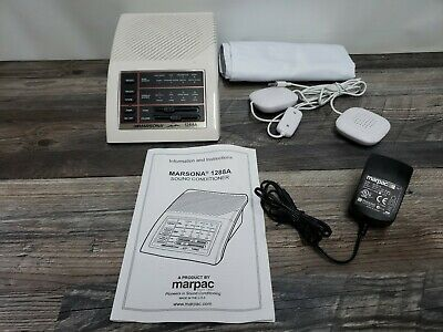 Marpac Marsona 1288A Electronic Programmable Sound Sleep Conditioner & Extras