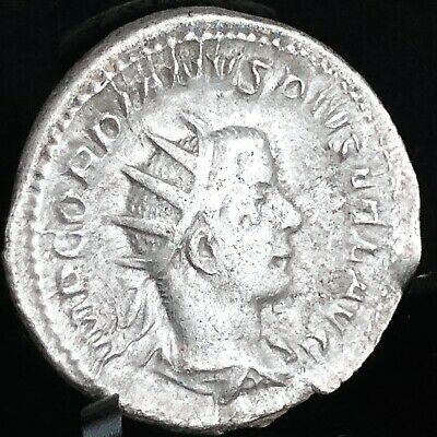 Gordian Iii Authentic Ancient Roman Coin 238Ad-244Ad & Display - Free Shipping