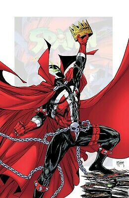 SPAWN 301 J 1:25 TODD McFARLANE INCENTIVE VIRGIN VARIANT NM