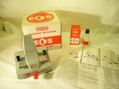 VINTAGE EUMIG CHEMO SPLICER Z01 SUPER 8 BOXED c/w INSTRUCTIONS & BINDING AGENT