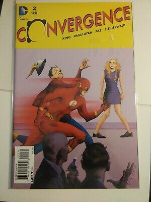Convergence #2 variant Jae Lee The Flash DC. NM condition