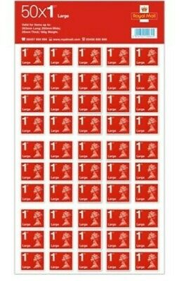 ROYAL MAIL FIRST Class Large Letter 1st Class Self Adhesive Stamp