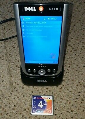 Dell Axim X50 PDA - good condition and working well...