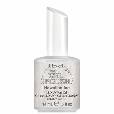 IBD Just Gel UV LED Gel Nail Polish HAWAIIAN ICE 56543