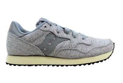 dfa1aeb5 NEW WOMENS SAUCONY DXN Trainer CL Knit Sneaker Style S60359-2 Gray ...