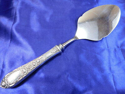 S. Kirk & Son Rose Sterling Silver Dessert Lifter - Good Condition M