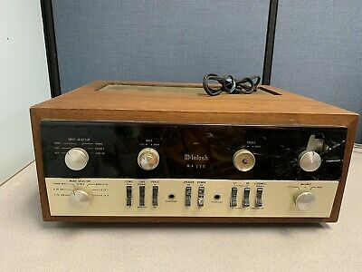 VINTAGE MCINTOSH MODEL MC-240 MC240 Stereo HiFi Tube Amplifier