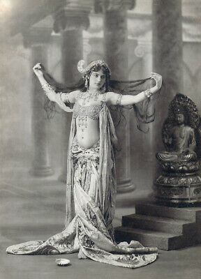 VINTAGE Hollywood Starlet SHOW GIRL BELLY Dancer Photo Photograph REPRINT 17