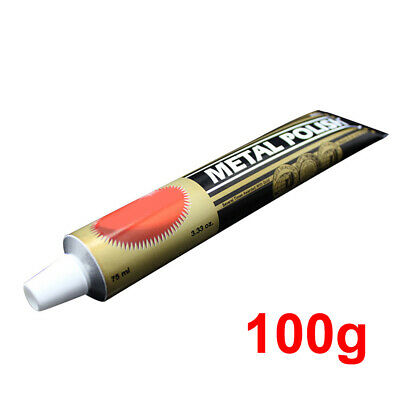 1x 100g Autosol Solvol Chrome Polished Cleaner Aluminium & Metal Rust Paste Tube
