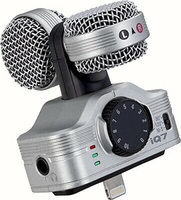 Zoom iQ7 Mid-Side Stereo Microphone for for (iOS Devices)