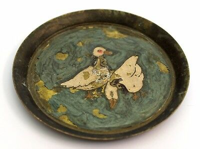 Vintage small plate indian hand made decorative traditional antique plate decor.