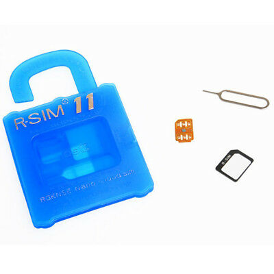 R-SIM 11RSIM Nano Unlock Card iPhone 4S 5 5S 5C 6 6 6s 6s Plus 4G LTE Practical