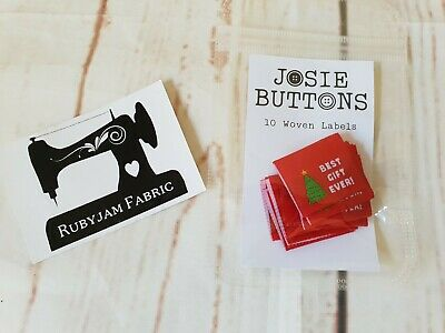 Best Gift Ever -sew in woven tags clothing label FREEPOSTAU