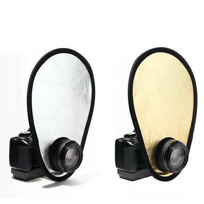 Supplies Collapsible Portable Gold Silver Photo Reflector 2 In 1 Mini Universal