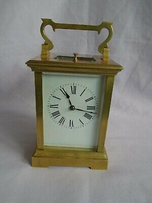 French Couaillet Repeater Carriage Clock +Key In Good Working Order