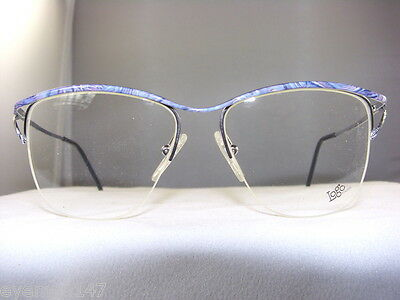 Buy One Get One Free Womens Silver/Blue Marble Eyeglass Frame