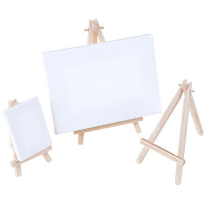 Mini Wooden Tripod Easel Display Painting Stand Card Canvas Holder ZB