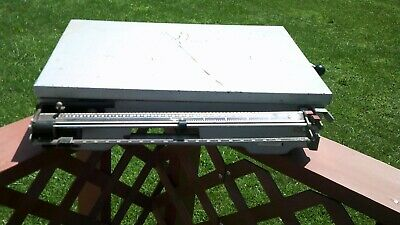 Accu-Weigh Beam 300 Pound Capacity Mechanical Bench Tabletop Scale West Germany