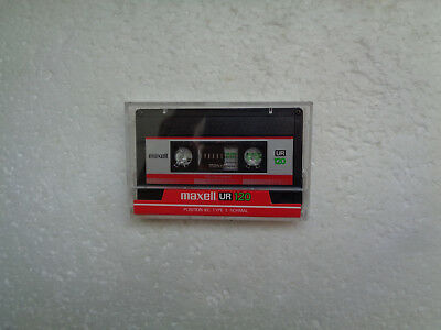 Vintage Audio Cassette MAXELL UR 120 From 1986 - Fantastic Condition !!