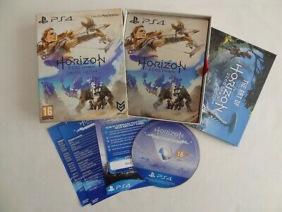 Horizon zero dawn limited edition * Complete edition disc * Ps4 * Free UK P&P