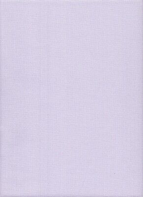25 count Zweigart Lugana E/W Cross Stitch Fabric size 49 x 69cms Pale Lavender