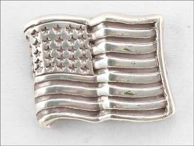 Lot Of 100 Concho American Flag Bright Silver Finish New 10-1008