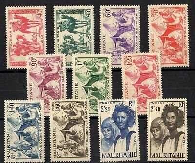 Mauritanie: Serie Complete De 11 Timbres Neuf** N°105/115 C: 12,00 €
