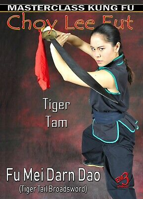 FU MEI DARN DAO (Techniques of Tiger Tail Broadsword) Vol-2 Kung Fu by Tiger Tam