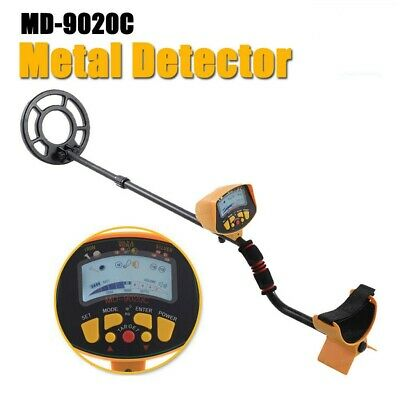 Metal Detector LCD Deep Sensitive Archeology Tool Underground Gold Hunt Finder