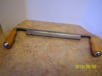 Craftsman Draw Shave Knife Straight Draw Woodworking Tool