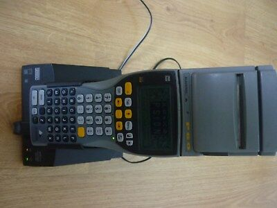 Psion Workabout 2mb ram mx BLACKROC  Good  Condition  with printer and docking