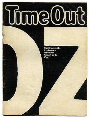 Time Out Magazine August 13-19, 1971 Oz Trial  Mike Maran Vic Corti Do It!