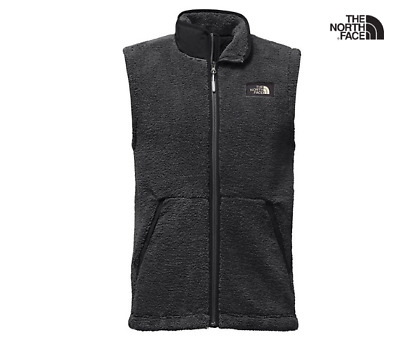 04e105a1f NWT NEW MEN'S THE NORTH FACE CAMPSHIRE Sherpa fleece VEST SIZE Med asphalt  grey