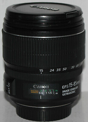 Canon EF-S 15-85mm f/3.5-5.6 IS USM [in excellent condition]